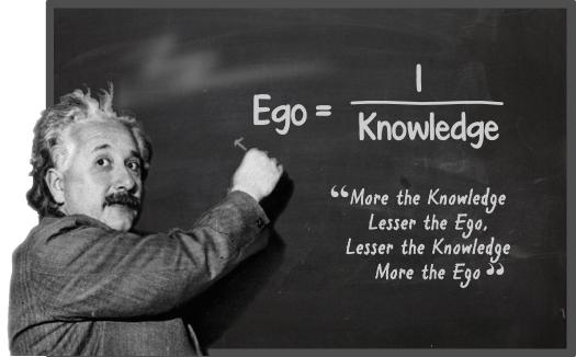 How to Leave Your Ego at the Door  Thoughts on approaches that might maximize humility